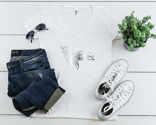 Dreamer | Women's Slim V-Neck T-shirt