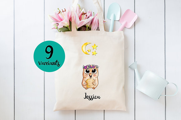 Baby Animals | Personalised Cotton Tote Bag