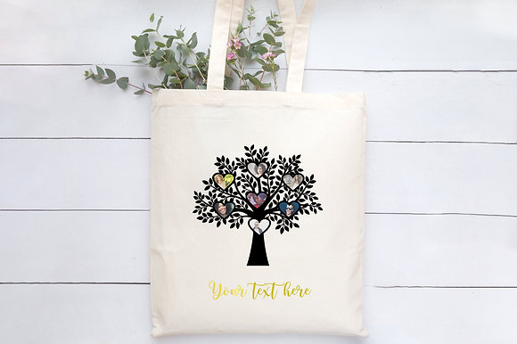 Family Tree | Personalised Cotton Tote Bag