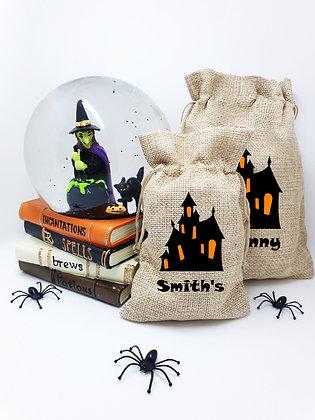 Halloween cotton pouch