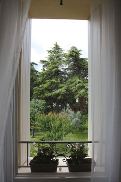Mezzanine - Vue jardin
