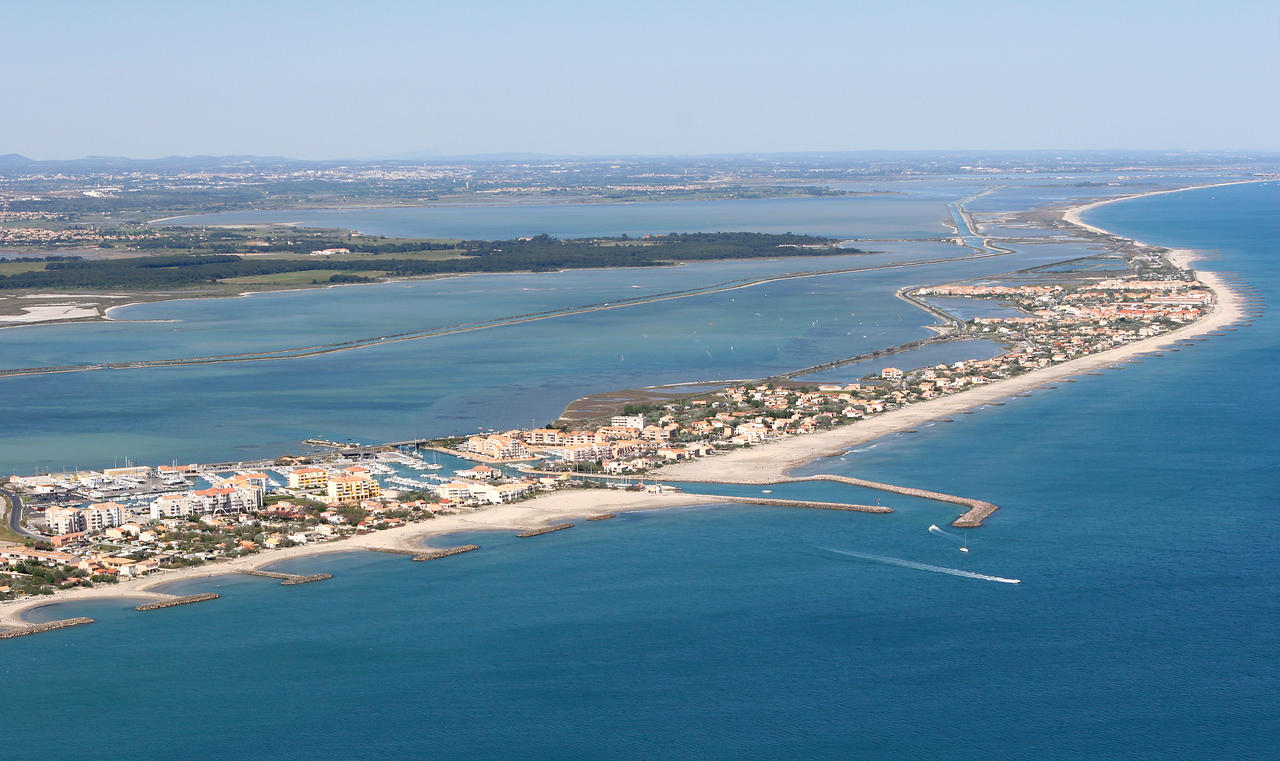 The beach at Frontignan