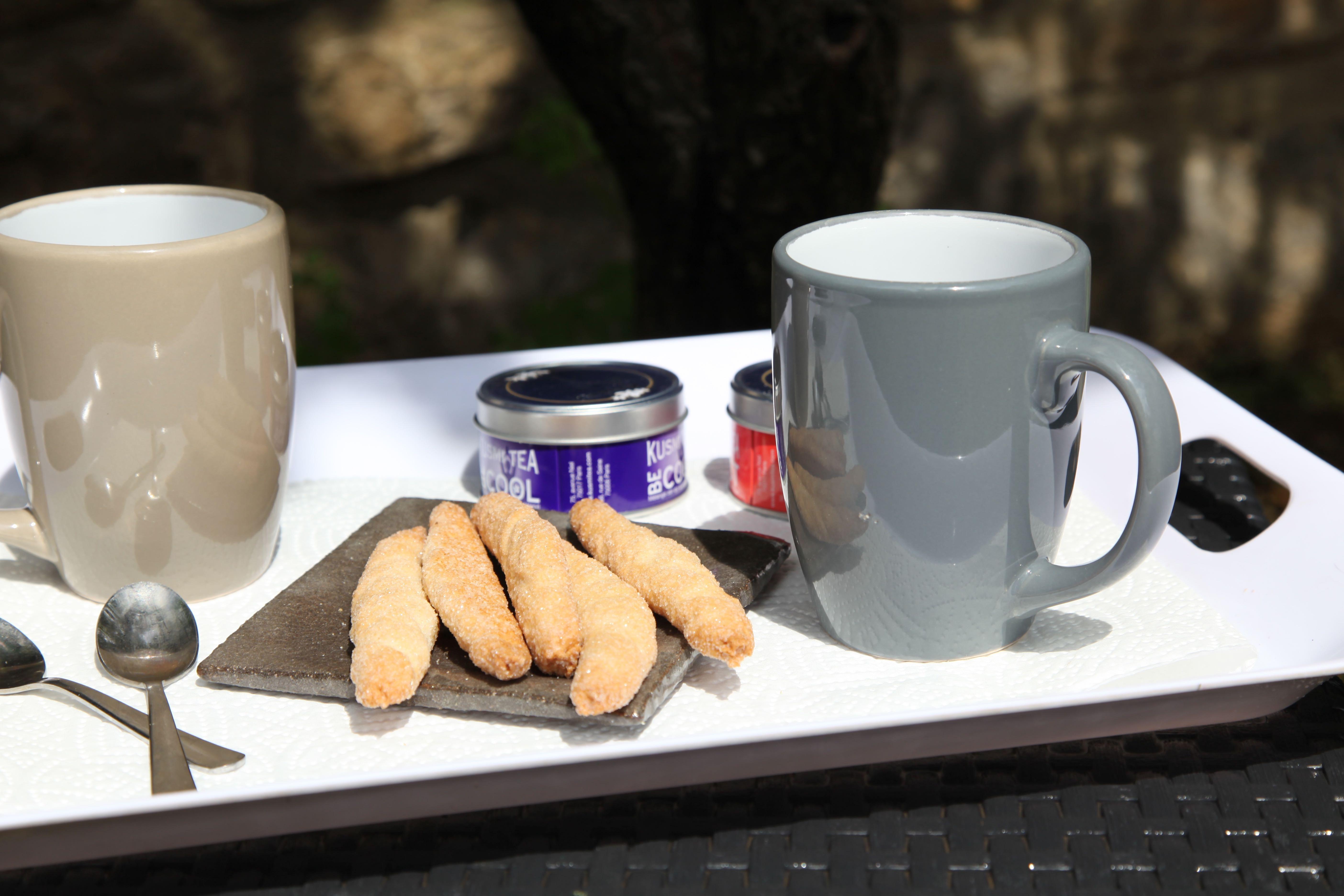 Le petit déjeuner au Clos du héron