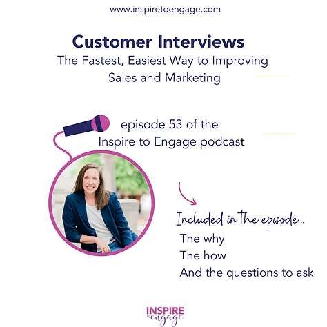 ep 53 about customer interviews to be be