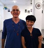 Gérald Disse and Chulee - Ashtanga yoga