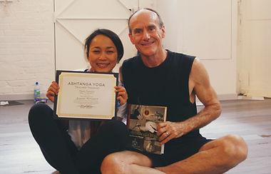 David Swenson and Chulee - Ashtanga yoga