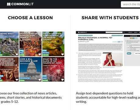 Common Lit Website