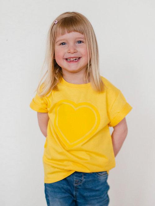 SMALL BUILDER : Kid T-Shirt - Yellow