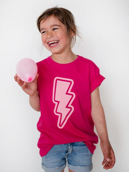 SMALL BUILDER : Kid T-Shirt - Pink