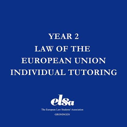 LEU Individual Tutoring ELSA Member