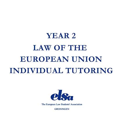 LEU Individual Tutoring Non-ELSA Member