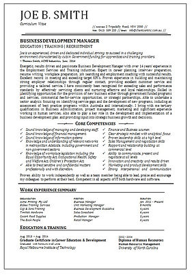 Professional CV by Client Centric Executive Employment Solutions
