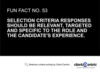 How to address the selection criteria on communication and interpersonal skills