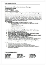 Resume example | Outplcemet Services