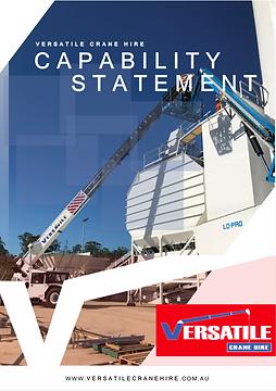 Capability Statement Designing