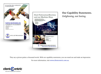 How a Capability Statement can help your business.