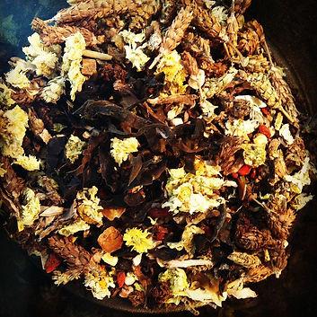 Raw Chinese herbs