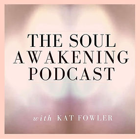 The Soul Awakening Podcast with Kat Fowler logo