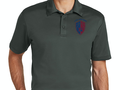Gray Dri-Fit Polo