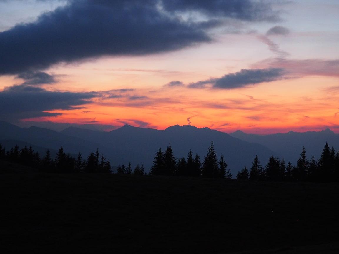 Sonnenuntergang & Schwalbenwand/Sunset
