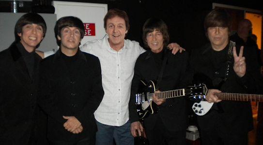 Sir Paul McCartney Backstage
