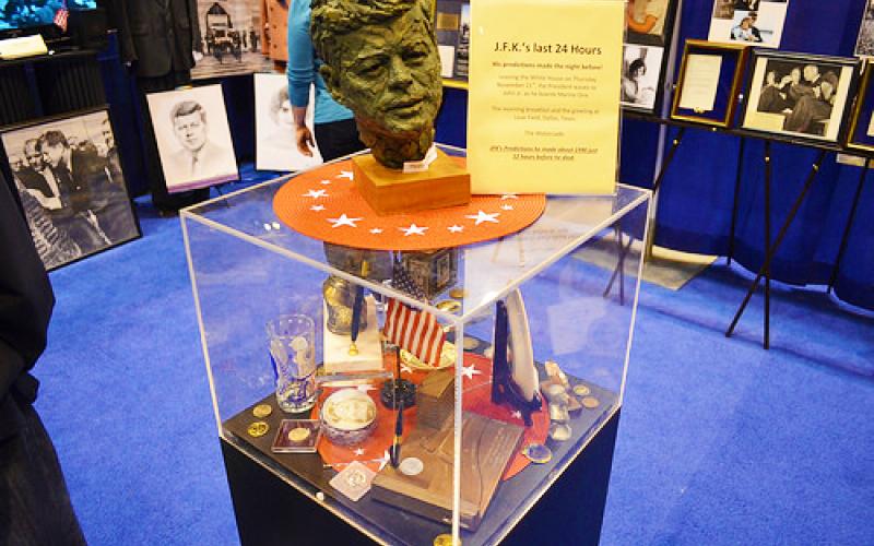 More JFK items on display