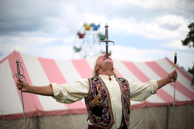 Sword-Swallower-at-a-Carnival-Dan-Meyer-