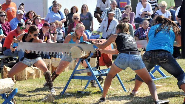 Sawing Competition