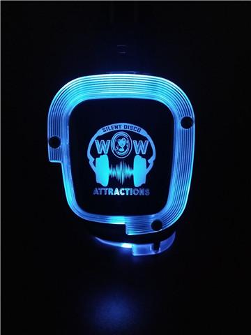 Blue LED Headset