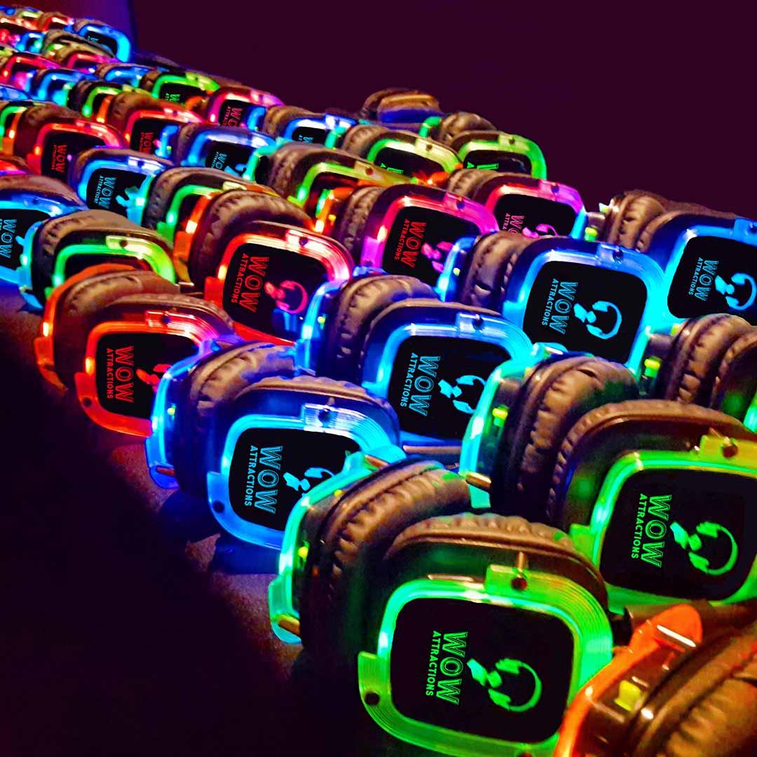 WOW Attractions Disco Headphones