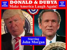 IAFE 2019 10 x 8 Backdrop Donald & Dubya