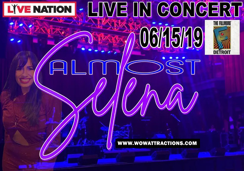 Selena-Live-nation Poster WOW