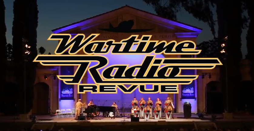 Wartime Radio Revue 2018 Logo RB