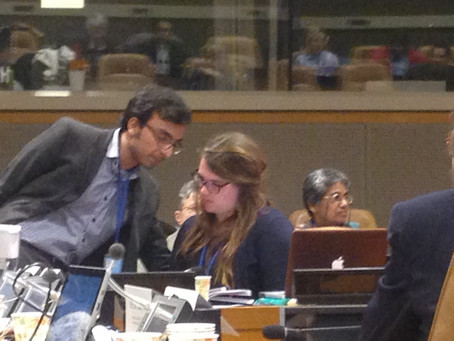 Day 1 of the Post-2015 SDG Intergovernmental Negotiations