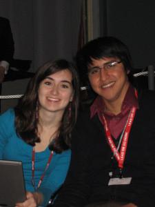 Lauren Nutter and Juan Soriano
