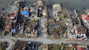 This is how Loss and Damage looks right now in the Philippines. Photo from the BBC News.