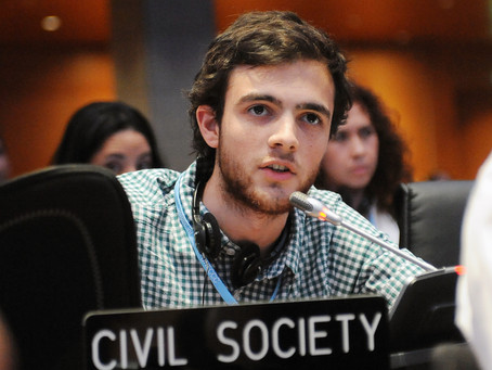 Doha Deception: Youth intervention to COP opening plenary