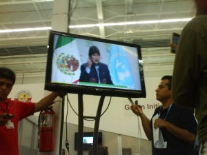 Evo Morales at COP16