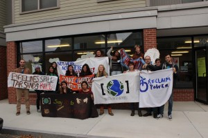 Once more into the breach: Reclaiming Power at the frack pads and in the UNFCCC