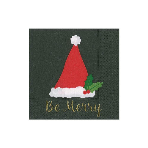 Be Merry Cocktail Napkins