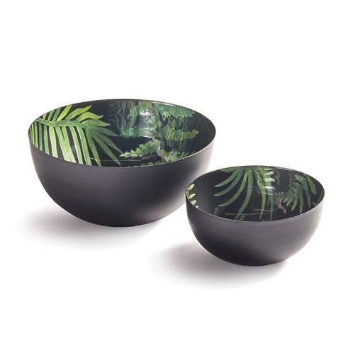 Green Leaf Serving Bowls