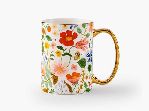 Strawberry Fields Porcelain Mug