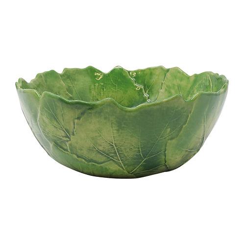 Vietri Foglia Stoneware Serving Bowl