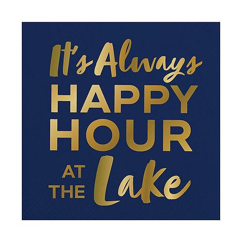 Slant It's Always Happy Hour At The Lake