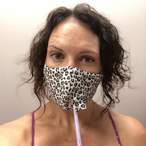 Cheetah Charcoal Happy Hour Mask