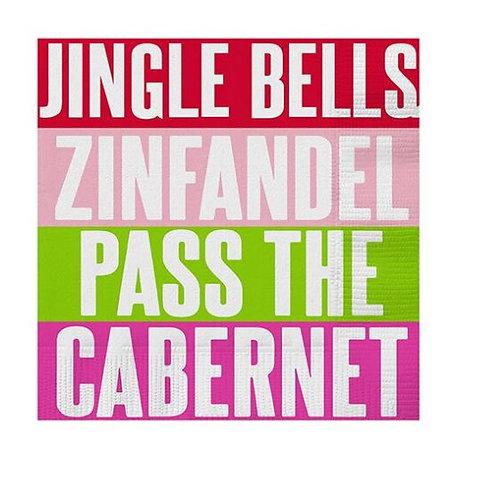 Jingle Bells Cocktail Napkins