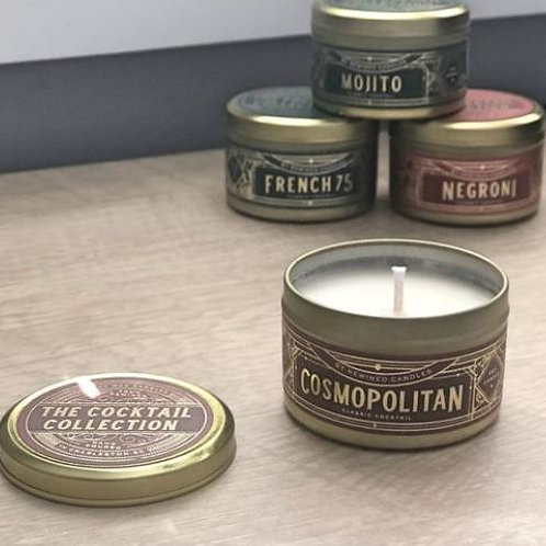 Rewined Cosmopolitan Candle Tin