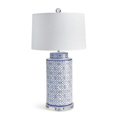 Diamond Fretwork Lamp