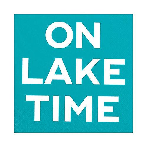 Slant On Lake Time