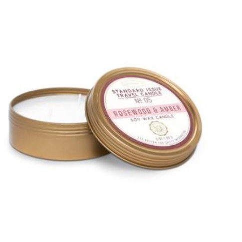 Rosewood & Amber Travel Candle
